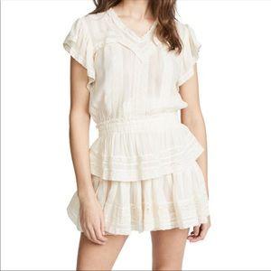 LoveShackFancy Chelsea Dress White Size Small